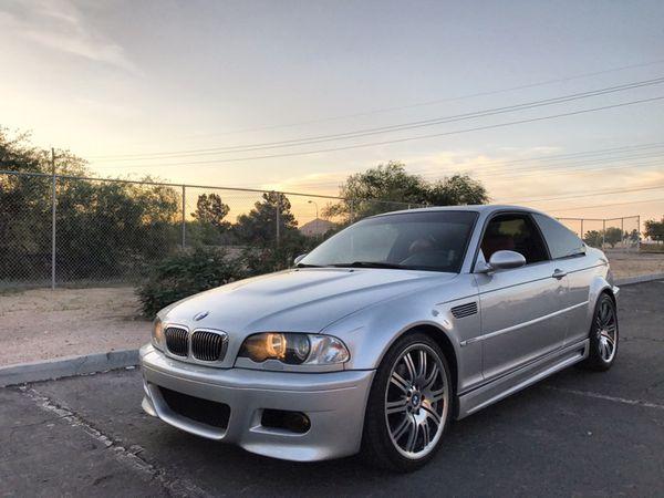 BMW E46 M3 For Sale / Trade Titanium Silver Imola Red ...