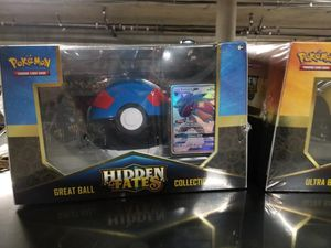 Pokemon Hidden Fates Pokeball Collection for Sale in San Jose, CA