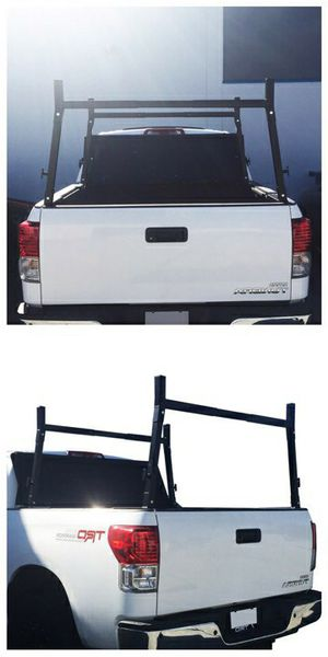 Brand new in box Universal set of 2 Cargo Ladder Truck Racks Width Adjustable 650lbs Capacity for Sale in Whittier, CA