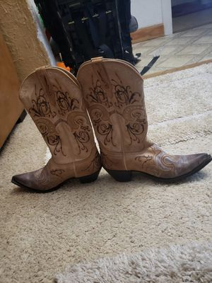 Sterling River leather cowboy boots. for Sale in St. Louis, MO