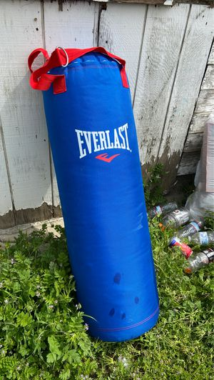 Everlasting punching bag for Sale in Delano, CA