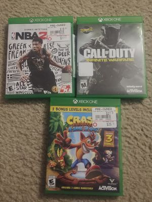 X box one games for Sale in Plymouth, MI