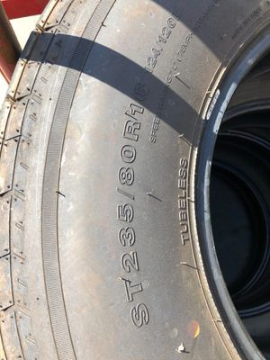 235/80r16 west lake trailer tires for Sale in Cypress, CA