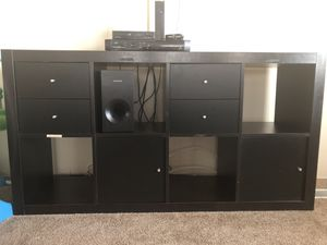 8 cube organizer/shelf/tv stand for Sale in Manassas Park, VA