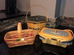 Longaberger baskets for Sale in Loveland, OH