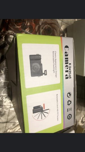 Digital Camera,Vlogging Camera 24MP YouTube Camera with 3.0 Inch 180 Degree Flip Screen Digital Zoom Camera with LED Fill Light for Sale in Huber Heights, OH