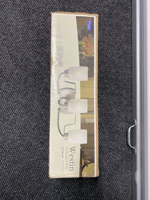 Light Fixture Westin Collection (brushed nickel) BRAND NEW for Sale in Waltham, MA