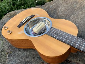 Roadworn pan resonator guitar parlor size with p90 pickup for Sale in Grants Pass, OR