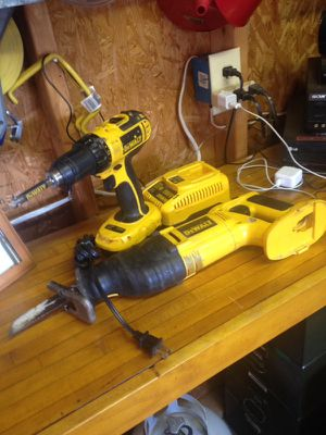 Dewalt 18v drill and reciprocating saw for Sale in Madison Heights, VA