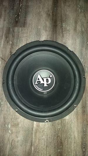 "Audiophile 12 "" 1000 WATT X2 (PAIR) for Sale in Davenport, IA"