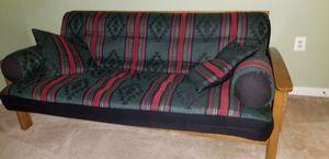 Oak Queen futon for Sale in Haymarket, VA