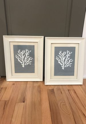 Hand made double coral picture frames for Sale in Lacey Township, NJ
