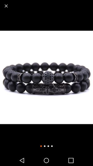 Blk on blk lava oil scent beads for Sale in New York, NY