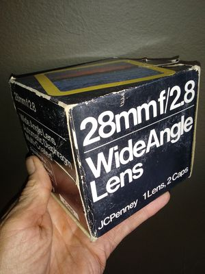 JC Penney 28mm Wide-angle MD-mount NEW-IN-BOX for Sale in Chino Hills, CA