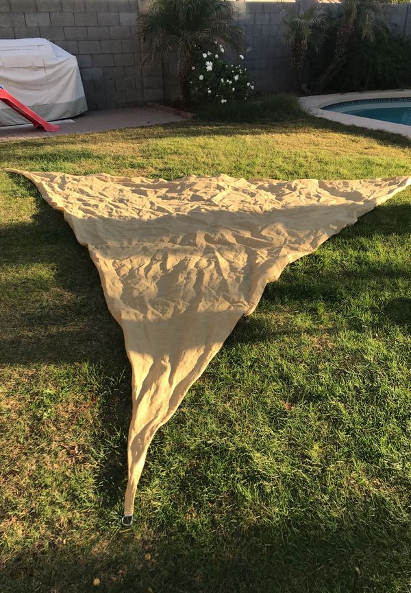 Triangle tent shade 15x15x15