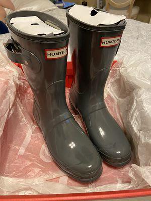 Hunter Short Gloss Rainboots for Sale in Arlington, TX