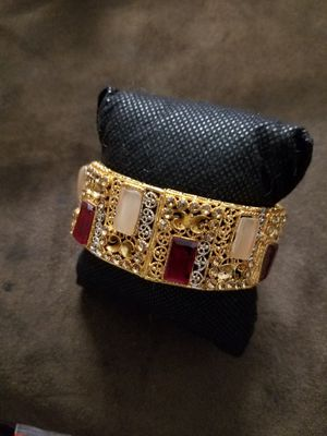 18k plated bracelet for Sale in Catonsville, MD