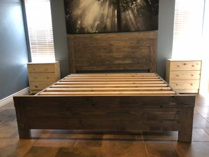 KING BED FRAME for Sale in Tempe, AZ