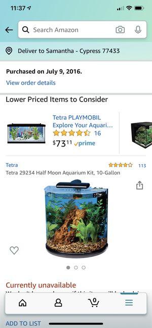 Tetra 10 gallon Aquarium for Sale in Cypress, TX