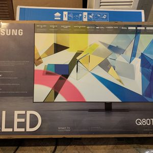 Samsung QLED 80T 55 Inch PlayStation Ready/free Samsung 43 Inch for Sale in Providence, RI