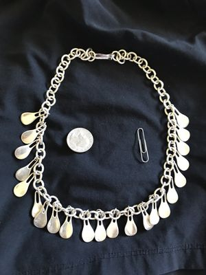 Necklace sterling silver 925 Robert-Lee-Morris weight 100 grams for Sale in Costa Mesa, CA