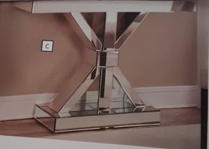 NEW, beautiful mirrored hall console or sofa table. for Sale in Hollywood, FL