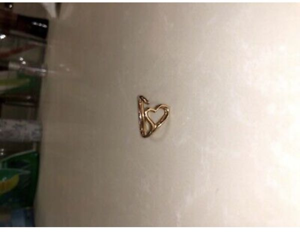 Elsa Peretti Tiffany & Co Open Heart Ring 18k rose gold size 6