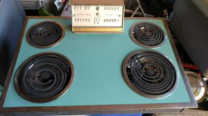 VINTAGE 1950's OVEN, ELECTRIC RANGETOP AND RANGEHOOD for Sale in Alton, IL