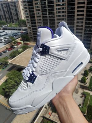Jordan 4 Purple Metallics SIZES 9.5 AND 7Y for Sale in Bailey's Crossroads, VA