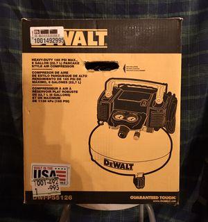 NEW IN BOX DEWALT 6 Gal. 165 PSI Electric Pancake Air Compressor for Sale in Upper Darby, PA