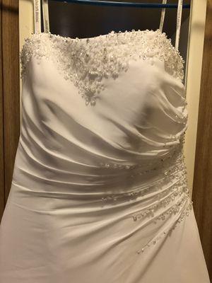 Brand new Aline Chiffon wedding dress size 4 for Sale in Federal Way, WA