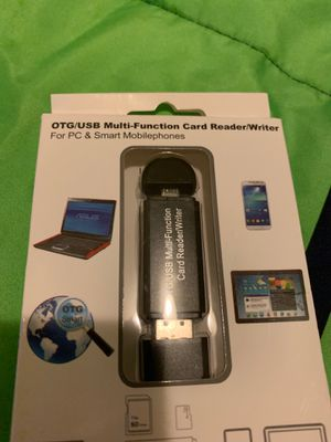 Multi function uSB reader for Sale in Lacey, WA