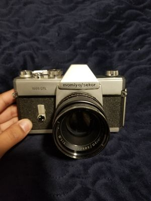 Mamiya Sekor DTL1000 35mm Film Camera w Flash (OBO) for Sale in Delano, CA