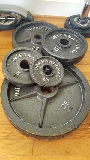 Weight plates for Sale in Rolesville, NC