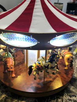 Carousel Rotating With Lights And Music for Sale in Bridgeport,  WV
