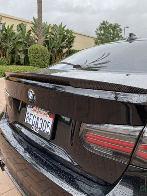 Bmw carbon fiber spoiler for Sale in Lake Forest, CA