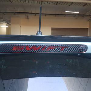 Suzuki Swift 3rd Brake Ligth Carbon Fiber Overlay New for Sale in Addison, IL