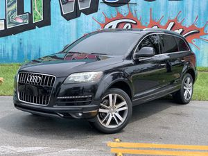2012 Audi Q7 TDI Black - Drive for only $75 to $100 a week for Sale in Miramar, FL