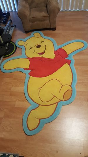 Winnie-the-Pooh rug for kid's room for Sale in Los Angeles, CA