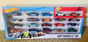 Hot Wheels 20 Pack (Includes Momo Datsun 510 Wagon) for Sale in Irvine, CA