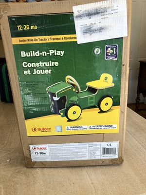 New in box , Build and play John Deere junior ride tractor for Sale in Bonita, CA