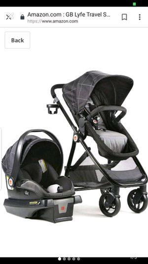 Baby car seat and stroller. for Sale in Los Gatos, CA