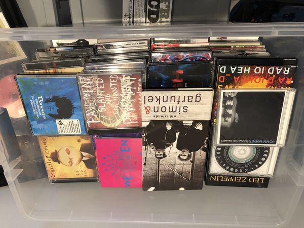 170+ Popular CDs in Original Cases