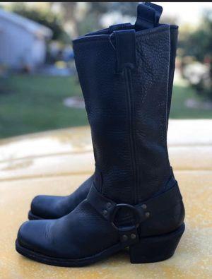 Women's Black Biker Boots for Sale in Hudson, FL