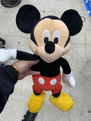 """Disney Classic Micky Mouse Doll (26"""" long) Washable and All New Materials for Sale in The Bronx, NY"""