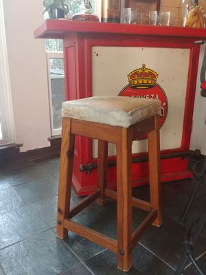 Hide bar stool for Sale in Benbrook, TX