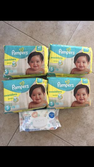 Pampers and wipes! $30 for Sale in Ceres, CA