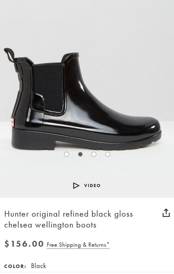 Brand new Hunter boots