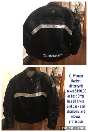 Motorcycle Jackets / 1 Rocket Jacket / Vest All priced individually for Sale in Chicago, IL