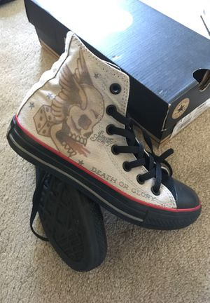 Sailor Jerry Converse All Star Sz 4 for Sale in Spencerville, MD